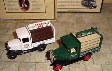 LLEDO - 1928 CHEVROLET DELIVERY VAN BECK'S BEER & 1934 CHEVROLET CANADA DRY VAN