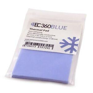 EC360® BLUE 5W/mK Wärmeleitpad (50 x 50 x 3,0 mm) I GPU RAM ThermalPad