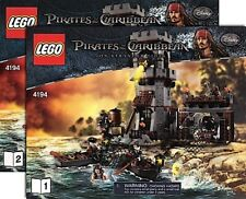 LEGO White Cap Bay Pirates of the Caribbean Instruction Booklets Set 4194 NEW