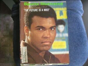 7/26/71 MUHAMMAD ALI SPORTS ILLUSTRATED ISSUE BEFORE THE ELLIS FIGHT EXCELLENT