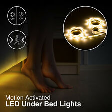 GreenLighting New Motion Activated Led Under Bed Cabinet Light Strip Night Light