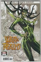 War of the Realms #1  MARVEL COMICS  Variant Cover B J. Scott Campbell 1ST PRINT