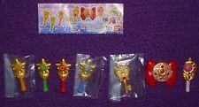 7 Sailor Moon Gashapon Magnete Complete Set Komplettset Bandai 2014 + 1x BPZ