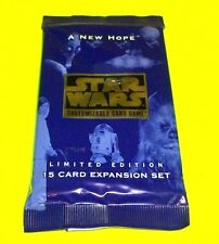 Star Wars Customizable Trading Cards Game A New Hope 15 Card Expansion Set Pack