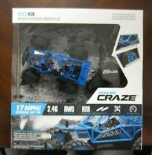 Power Craze High Speed Mini R/C Vehicle 2.4G Technology With Remote Control -NEW