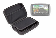 Strong Black Hard Case W/ Inner Pocket For TomTom Go Live 825 & XXL IQ Routes