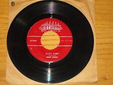 "R&B 45 RPM - BENNY BROWN - GOTHAM 7293 - ""PAPPA!"" + ""SLICK BABY"""
