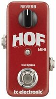 TC Electronic HOF Hall of Fame Reverb Mini TonePrint Guitar Effects Pedal 2DAY