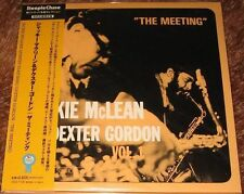 Jackie McLean Quintet w/ Dexter Gordon - The Meeting / JAPAN Mini LP CD 2008 NEW
