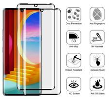 For LG Velvet Premium Screen Protector Tempered Glass FULL COVERAGE 3D Curved 9H