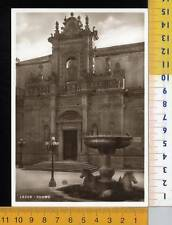 43465]  LECCE - IL DUOMO _ 1936