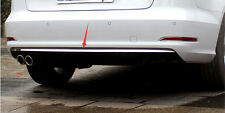 Stainless Rear Bumper Bottom Cover Trim 1pcs For Audi A3 8V Sedan 2012-2018
