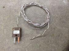 TYPE T. 1m PDFE Thermocouple Temperature Sensor.