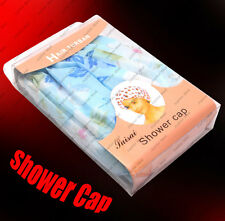 6 PCS RESUABLE SHOWER CAP Water Proof Shower Cap Elastic Band