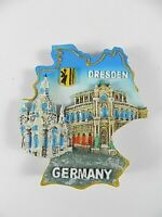 Dresden Semperoper,Frauenkirche Germany,Souvenir Magnet Poly 3 D Optik,6,5 cm