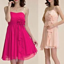 Ballgowns Floral Sleeveless Short/Mini Dresses for Women