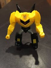 MCDONALDS 2015 TRANSFORMERS ROBOTS IN DISGUISE #1 BUMBLEBEE HAPPY MEAL TOY(1)!