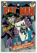 DC Comics Batman v1 #251 1973 Denny O'Neil Neal Adams Joker Lower Grade No CGC
