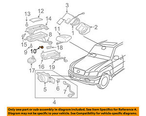 TOYOTA OEM High Mount Lamps-Rear Lamps-Cover Retainer 9014950032