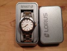 New - Reloj Watch Montre LORUS Ref.RXD05CX-9  Quartz Steel Acero Bicolor - Nuevo