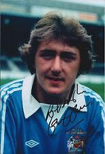 Gary OWEN Signed Autograph 12x8 Photo AFTAL COA Manchester City Authentic