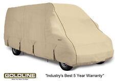 Goldline Class B RV Conversion Van Cover Fits 20 to 22 FT Tan