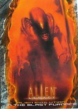 CARTES - CARDS DE COLLECTION SERIE CINEMA FILM ALIEN NUMERO 74