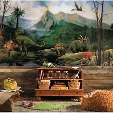 DINOSAURS WALL MURAL Prepasted Dinosaur Wallpaper Boys Bedroom Decor