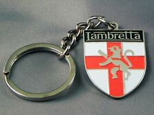 Lambretta English shield design large Collectable keyring. Mods scooter