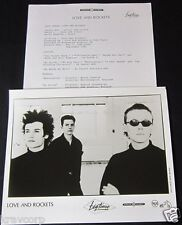 LOVE AND ROCKETS 'S/T' 1989 PRESS KIT--PHOTO