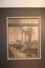 June 1941 Fortune Magazine Cover Large Beautifully Matted NM Factories
