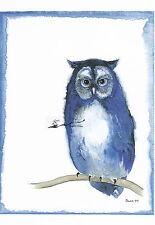 Kunstkarte: Heide Dahl - Eule