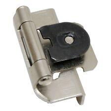 """PAIR AMEROCK Satin Nickel 1/2"""" Single Demountable Steel Cabinet Hinge CMR8719G10"""