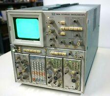 Vintage Tektronix 7834 Storage Oscilloscope With 7a18 7m13 7b85 7b80