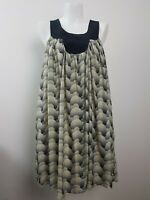 Zimmermann Silk Shift Dress Size 1 ~ 10 Tent Dot Cloud Circle Pattern AU MADE