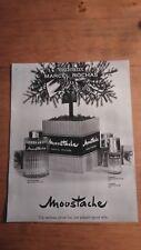 PUBLICITE ANCIENNE PUB ADVERT - PARFUM ROCHAS MOUSTACHE (PARIS MATCH 1964)