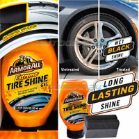 NEW ArmorAll Extreme Car 4x4 Tyre Tire Wet Black Look Shine Gel + Applicator Pad