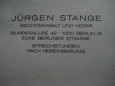 Freikauf Berlin Wall Republikflucht Rechtswanwalt Wolfgang Vogel Stange DDR SED