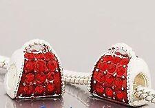 Handmade Rhinestone Costume Charms & Charm Bracelets