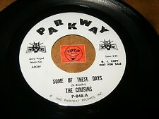 THE COUSINS - SOME OF THESE DAYS - WHEN MY BABY SMILES   / LISTEN - ROCK POPCORN
