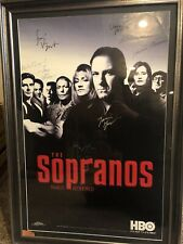 The Sopranos Autographed Poster