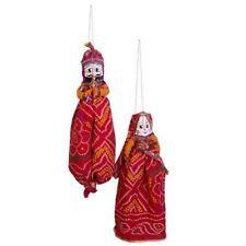 Jaipur Famous Puppet Katputli Set Raja Rani Handmade From Rajasthan India