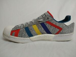 adidas Superstar WM Boost Men 9.5 Shoes Colorful White Mountaineering Sneakers