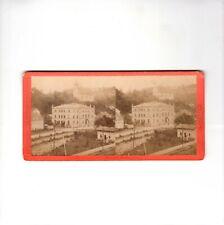 Hermann Krone Stereofotografie Dresden / Tharandt / Forstakademie - um 1870