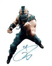 Tom HARDY RARE Signed Autograph 10x8 Photo COA AFTAL Bane BATMAN Villain