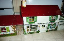 MARX Tin Litho House Breezeway DISNEY Room