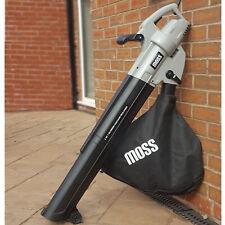Leaf Blower 3in1 Garden Vacuum Shredder 45L Bag 10m Cord 3000w Leafblower
