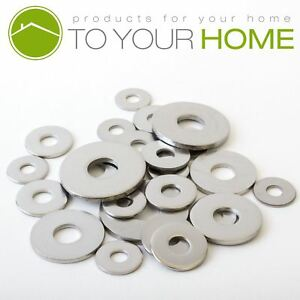 Flat Form G Penny Washers A2 Stainless Steel M3 M4 M5 M6 M8 M10 M12 DIN9021