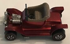 HOT WHEELS RED LINE HOT HEAP In Orange Red Color Mint Condition .
