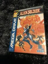 Alien Soldier SEGA Mega Drive JAP Version - Custom Game - Grade AAA+++